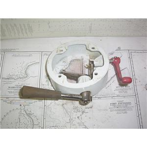 Boaters' Resale Shop of TX 2012 1775.07 EDSON C-185 PEDESTAL COLLAR & CONTROLS