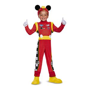 Mickey Mouse Roadster Racer Toddler Costume Child Small 2T