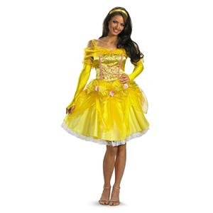 Belle Fab Beauty and the Beast Woman's Costume Adult Medium 8-10