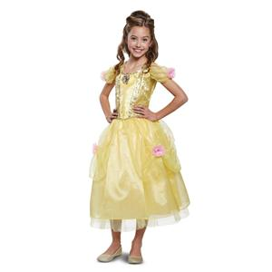 Belle Deluxe Beauty and the Beast Disney Child Costume Medium 7-8
