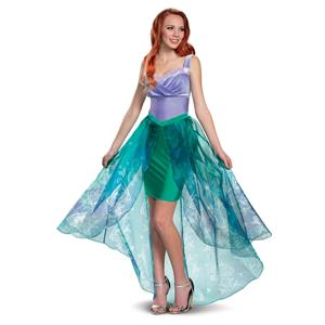 Ariel Deluxe Little Mermaid Disney Woman's Costume Adult Large 12-14