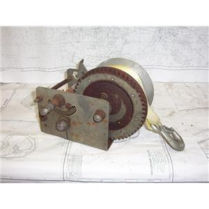 "Boaters' Resale Shop of TX 2101 0424.11 FULTON T2605 TRAILER WINCH WITH 2"" STRAP"
