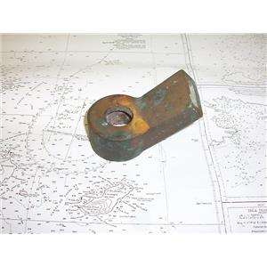 Boaters' Resale Shop of TX 1909 1024.35 BRONZE EMERGENCY RUDDER HEAD ONLY
