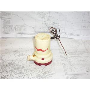 Boaters' Resale Shop of TX 2101 1541.05 RULE 1500 GPH 12 VOLT DC BILGE PUMP ONLY