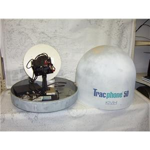 Boaters' Resale Shop of TX 2101 2954.04 KVH TRACPHONE 50 SATELLITE PHONE DOME