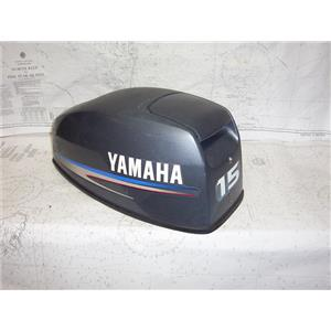 Boaters' Resale Shop of TX 2101 2744.04 YAMAHA 15 H.P. OUTBOARD MOTOR COWLING