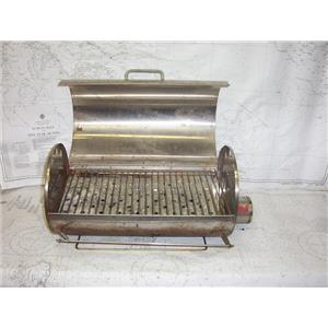 "Boaters' Resale Shop of TX 2101 2721.04 FORCE 10 PROPANE 9 x 17"" BBQ GRILL ONLY"