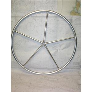 """Boaters' Resale Shop of TX 2102 2142.05 ALUMINUM 32"""" WHEEL WITHOUT NUT"""