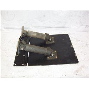 """Boaters' Resale Shop of TX 2102 4155.21 TRIM TAB 12""""x12"""" WITH HINGE & ACTUATORS"""