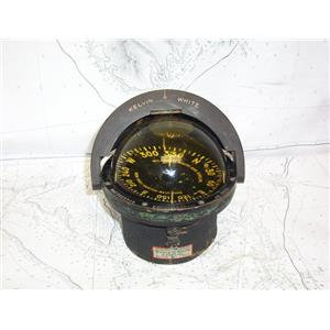 """Boaters' Resale Shop of TX 2103 1727.01 WILFRID O. WHITE 5"""" COMPASS"""