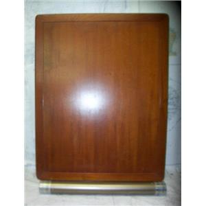 """Boaters' Resale Shop of TX 2103 2652.01 TEAK DINNETTE TABLE 30.5"""" x 39.25"""""""