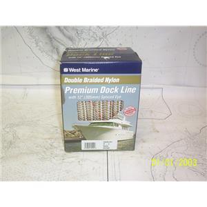 "Boaters' Resale Shop of TX 2103 2155.14 WEST MARINE DOCK LINE 5/8"" x 25FT"