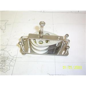 "Boaters' Resale Shop of TX 2103 2424.04 RONSTAN RF888AR 1/2"" DOUBLE CHEEK BLOCK"