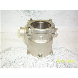 """Boaters' Resale Shop of TX 2104 0254.07 GUIDI 1"""" STRAINER HOUSING ONLY (4716)"""