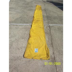 """Boaters' Resale Shop of TX 2104 0777.11 SCHURR SAILS BOOM SAIL COVER 18"""" x 9 FT."""