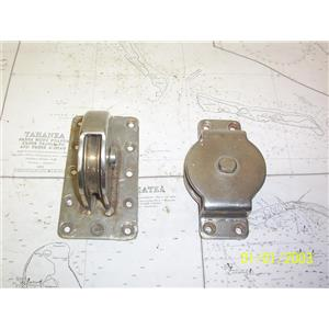Boaters' Resale Shop of TX 2104 2257.31 WIRE BLOCK SET FOR SAILBOAT CENTERBOARD