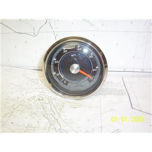 """Boaters' Resale Shop of TX 2104 0254.01 FARIA 2125545 SEARAY 3-3/4"""" SPEEDOMETER"""