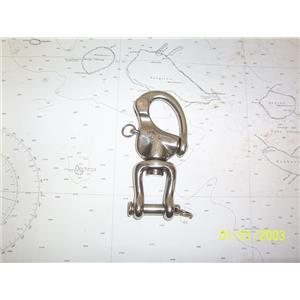Boaters' Resale Shop of TX 2103 2157.01 WICHARD 10mm SNAP SHACKLE WITH CLEVIS