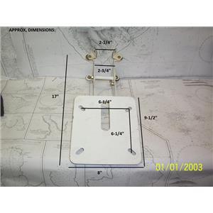 "Boaters' Resale Shop of TX 2104 1577.04 D. LILLY 17"" RADAR MAST MOUNT BRACKET"