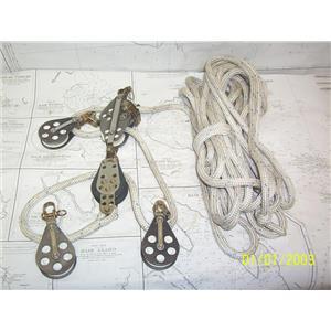 """Boaters' Resale Shop of TX 2105 0544.31 SCHAEFER 5:1 MAINSHEET VANG w/ 3/8"""" LINE"""