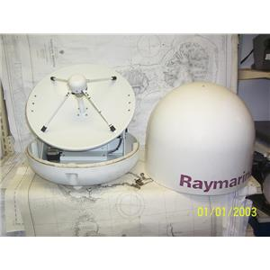 Boaters' Resale Shop of TX 2103 4445.01 RAYMARINE 45STV SATELLITE TV DOME E93002