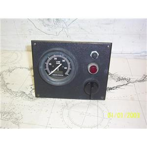 Boaters' Resale Shop of TX 2106 1727.01 VOLVO PENTA RPM GAUGE w/ IGNITION & KEY