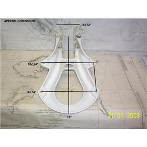 "Boaters' Resale Shop of TX 2107 0725.02 SCAN STRUT 16"" RADAR MAST MOUNT BRACKET"