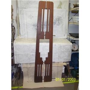 """Boaters' Resale Shop of TX 2102 5101.47 BOWSPRIT PLANK 5"""" D x 16 W x 69.5"""" L"""