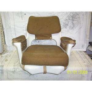Boaters' Resale Shop of TX 2107 2425.05 TODD HELM SEAT WITH CUSHIONS ONLY