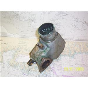 """Boaters' Resale Shop of TX 2108 0757.21 YANMAR EXHAUST ELBOW FOR 1"""" & 3"""" HOSE"""
