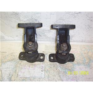 Boaters' Resale Shop of TX 2108 0757.05 MERCRUISER PAIR OF ENGINE MOUNTS