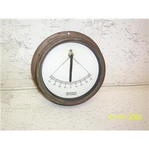 """Boaters' Resale Shop of TX 2108 2141.91 OBSERVATOR ROTTERDAM 5-1/2"""" CLINOMETER"""
