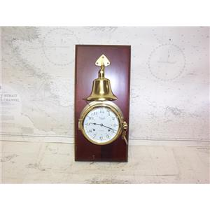 Boaters' Resale Shop of TX 2109 0441.01 VERSAILLES SHIPS WALL CLOCK, BELL & KEY