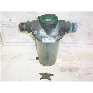Boaters' Resale Shop of TX 2109 0152.12 GROCO ARG-2000 BRONZE STRAINER ASSEMBLY
