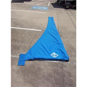 Boaters' Resale Shop of TX 2107 1427.02 C&C BOOM SAIL COVER 3 FT x 11 FT