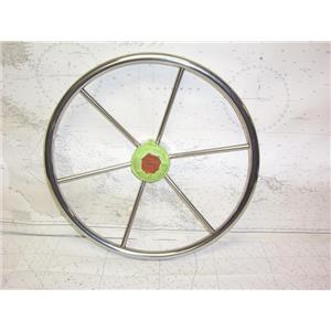 """Boaters' Resale Shop of TX 2109 1541.01 DISHED 18"""" STEERING WHEEL FOR 3/4"""" SHAFT"""