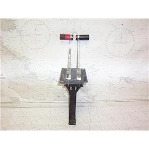 Boaters' Resale Shop of TX 2109 1541.12 DUAL LEVER ENGINE CONTROL ASSEMBLY