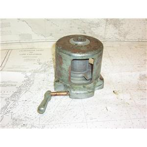 Boaters' Resale Shop of TX 2109 2451.37 VINTAGE MAIN HALYARD CABLE WINCH