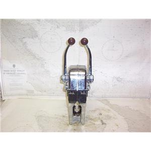 Boaters' Resale Shop of TX2109 5101.34 MORSE DUAL LEVER ENGINE CONTROLS ONLY