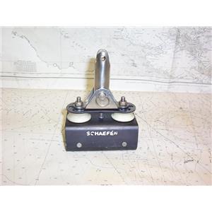 """Boaters' Resale Shop of TX 2109 2547.61 SCHAEFER TRAVELER CAR FOR 1.5"""" TRACK"""