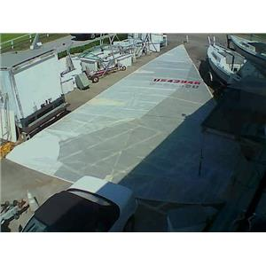 RF Mylar Jib w Luff 59-0 from Boaters' Resale Shop of TX 2108 0754.94