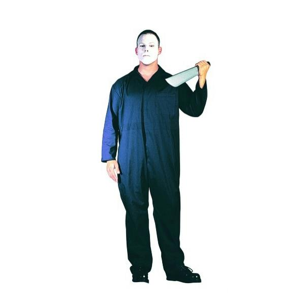 Navy Blue Jumpsuit Adult Mens Coveralls Overalls Costume Halloween