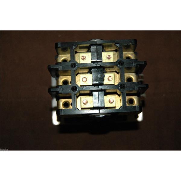 Telemecanique 2200EB230AA Contactor, 30A, Coil Voltage: 120V