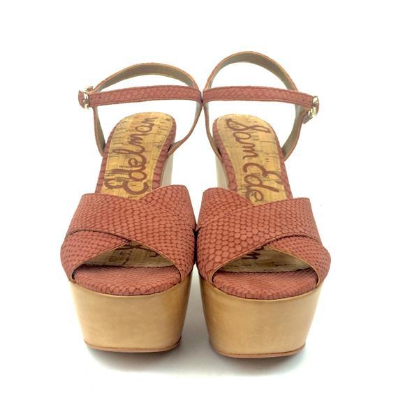 a3d205c9d7b3c6 9.5 NIB Sam Edelman Corbin Terra Snake Print Platform Sandals A8738L3200 .  Cash in the Closet
