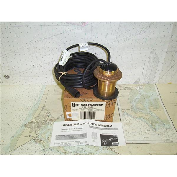 Boaters' Resale Shop Of Tx 1408 0444 02 FURUNO 520-BLD (AIRMAR B117)  TRANSDUCER