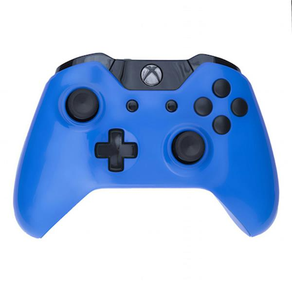 Mod Freakz Custom Series Xbox One Controller Shell/Buttons Electric Blue  with Black Buttons