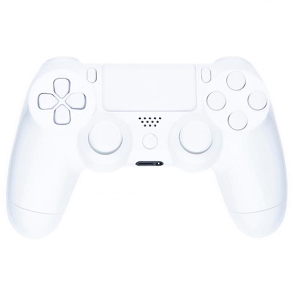 Mod Freakz Custom Series PS4 Controller Shell/Buttons Arctic White with  White Buttons