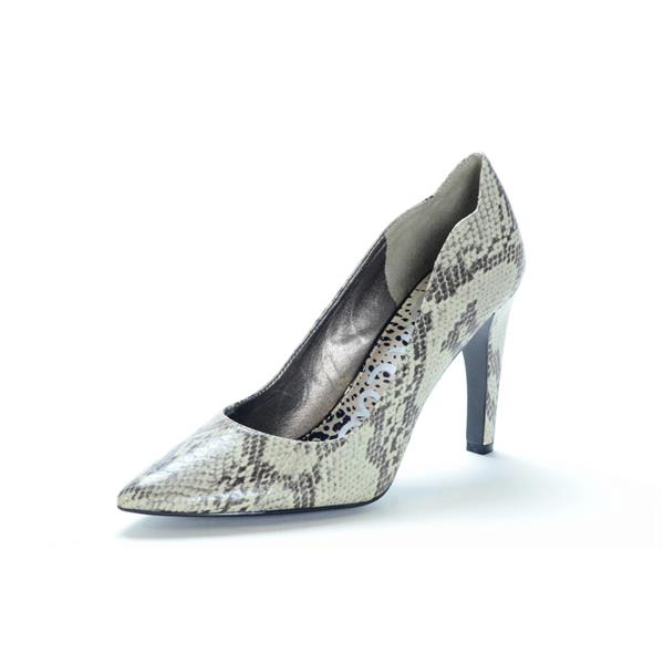 580d93a947b8b1 NEW Sam Edelman SADI Snake Skin Embossed Faux Leather Pointed Toe Pumps  Grey . Cash in the Closet