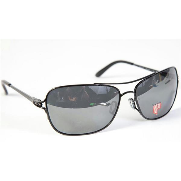 57d9e58b9da Oakley Conquest Sunglasses Polished Black Black Iridium Polarized ...