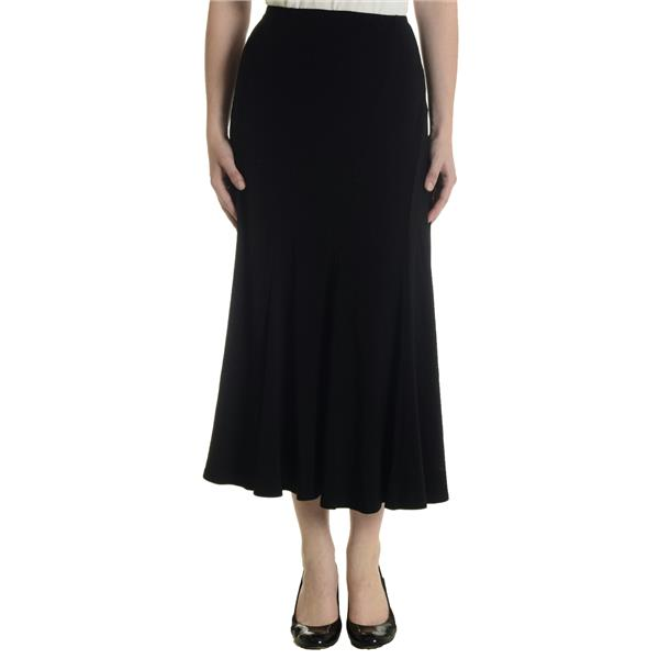 Brand New Joseph Ribkoff Solid Black Ankle Length Stretch A Line ...